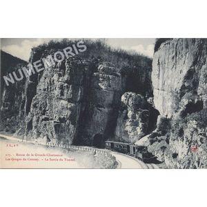 117 Route de la Grande-Chartreuse les gorges de Crossey la sortie du Tunnel