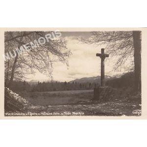 4750-82 environs de Saint Geoire en Valdaine la croix des mille martyrs