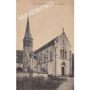 141 Saint-Aupre-le-bas l'église