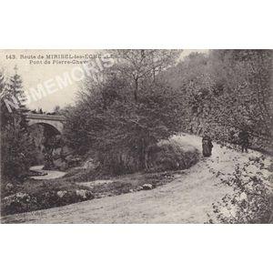GD 143 route de Miribel-les-Echelles pont de Pierre-Chaves