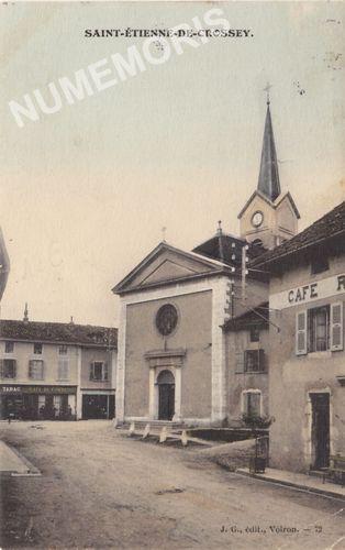 Saint Etienne de Crossey