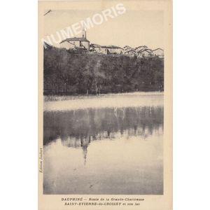 Dauphiné Route de Grande Chartreuse Saint Etienne de Crossey et son lac