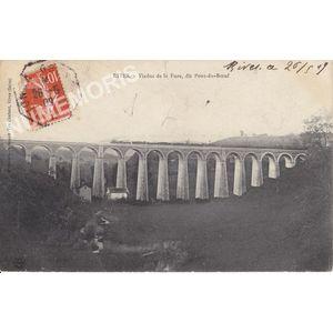 Rives viaduc de la Fure dit Pont-du-Boeuf
