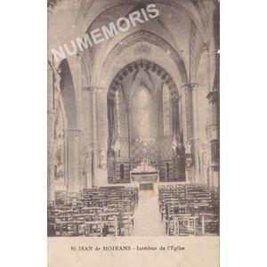 St-Jean-de-Moirans intérieur de l'église