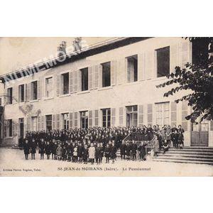 St-Jean-de-Moirans (Isère) le pensionnat