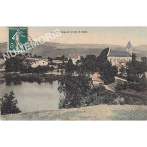 lac et château de St-Sixte (Isère)