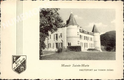 Saint Nicolas de Macherin château