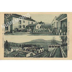 établissement J-M Métral usine à Maubec Voiron (Isère)
