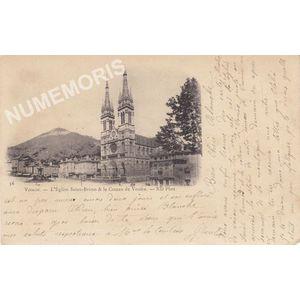 056 Voiron l'église Saint-Bruno & le coteau de Vouise