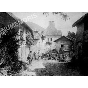 Chirens : foire aux cochons vers 1900