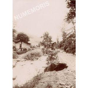 Voiron Inondations du 5 juin 1897