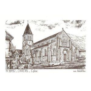 n° 38192 Chirens église