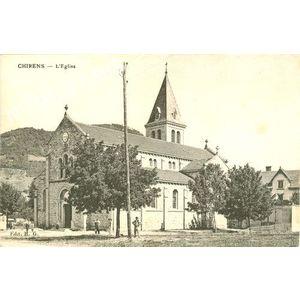 Chirens l'église