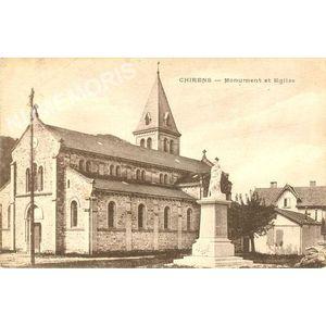 Chirens Monument et église