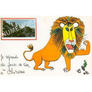 je reprends des forces de lion à Chirens