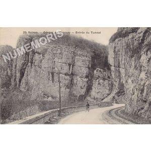 020 Voiron Gorges de Crossey entrée du tunnel