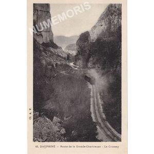 042 Dauphiné route de la Grande-Chartreuse le Crossey