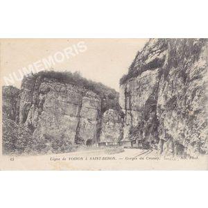 063 ligne de Voiron à Saint-Béron gorges du Crossey