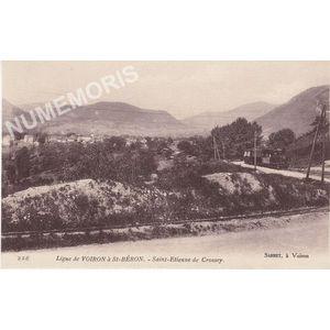 226 Ligne de Saint Béron à Voiron saint-Etienne-de-Crossey