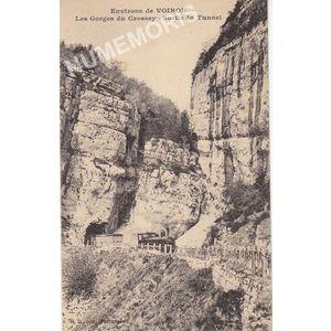 GD 073 Environs de Voiron les Gorges de Crossey sortie du tunnel