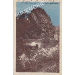 054 Voiron-Chartreuse (Isère) les gorges de Crossey