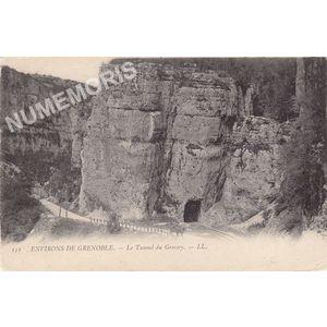 151 environs de Grenoble le tunnel du Crossey LL