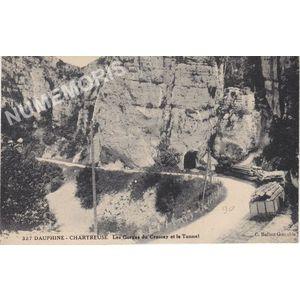 327 Dauphiné-Chartreuse les Gorges du Crossey et le tunnel