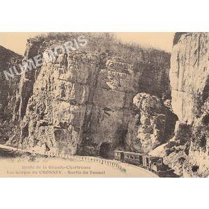 Route de la Grande Chartreuse les gorge du crossey sortie du tunnel