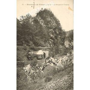 054 environs de Voiron (Isère) les gorges de Crossey