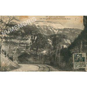 107 Environs de Voiron les gorges du Crossey et la Grande-Sure