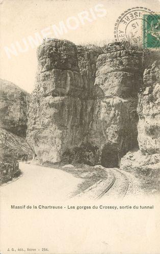 St Etienne de Crossey les gorges