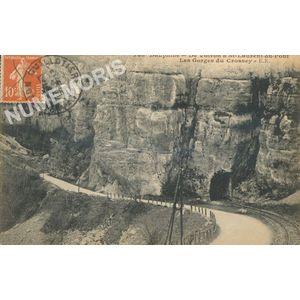 34? Dauphiné  de Voiron à St-Laurent-du-Pont les Gorges du Crossey ER