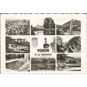 21049 Voiron-Chartreuse (Isère) les biches défilé du grand Crossey la piscine Eglise Saint-Bruno