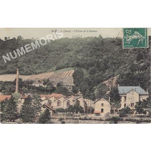 St-Bueil (Isère) l'usine de la Rosetta