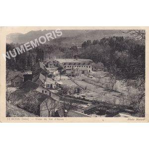 St-Bueil (Isère) usine du Val d'Ainan