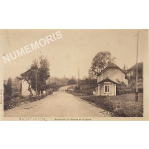 Saint-Bueil route de la Roche et la gare