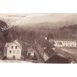 003 Saint-Bueil (Isère) l'usine Adolphe Veyre