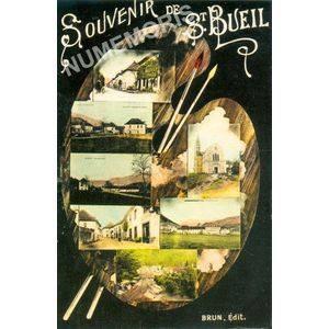 souvenir de Saint-Bueil