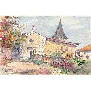 église Vourey 1904