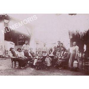 Vourey avant les vendanges en 1901