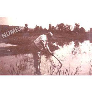 Vourey pêche dans les étang de la tuilerie en juillet 1900