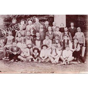 Vourey ouvriers de la tuilerie avant 1914