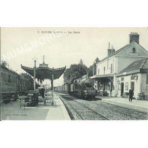 007 Rives (Isère) - La Gare