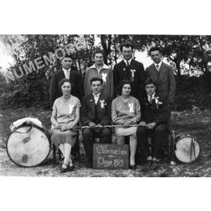 conscrits de Charancieu en 1929