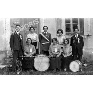 conscrits de Charancieu en 1925