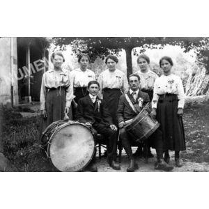 conscrits de Charancieu en 1920