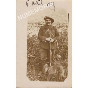 Charnècles : carte photo de Joseph Saget en 1915