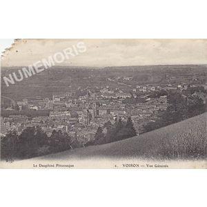 le Dauphiné pittoresque 02 Voiron vue générale