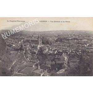 le Dauphiné pittoresque 03 Voiron vue générale et les usines