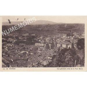 025 Voiron vue générale prise de la tour Barra